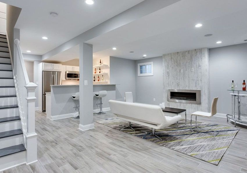 Design A Healthy finished basement